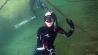 Freediving w Kamionce Piast
