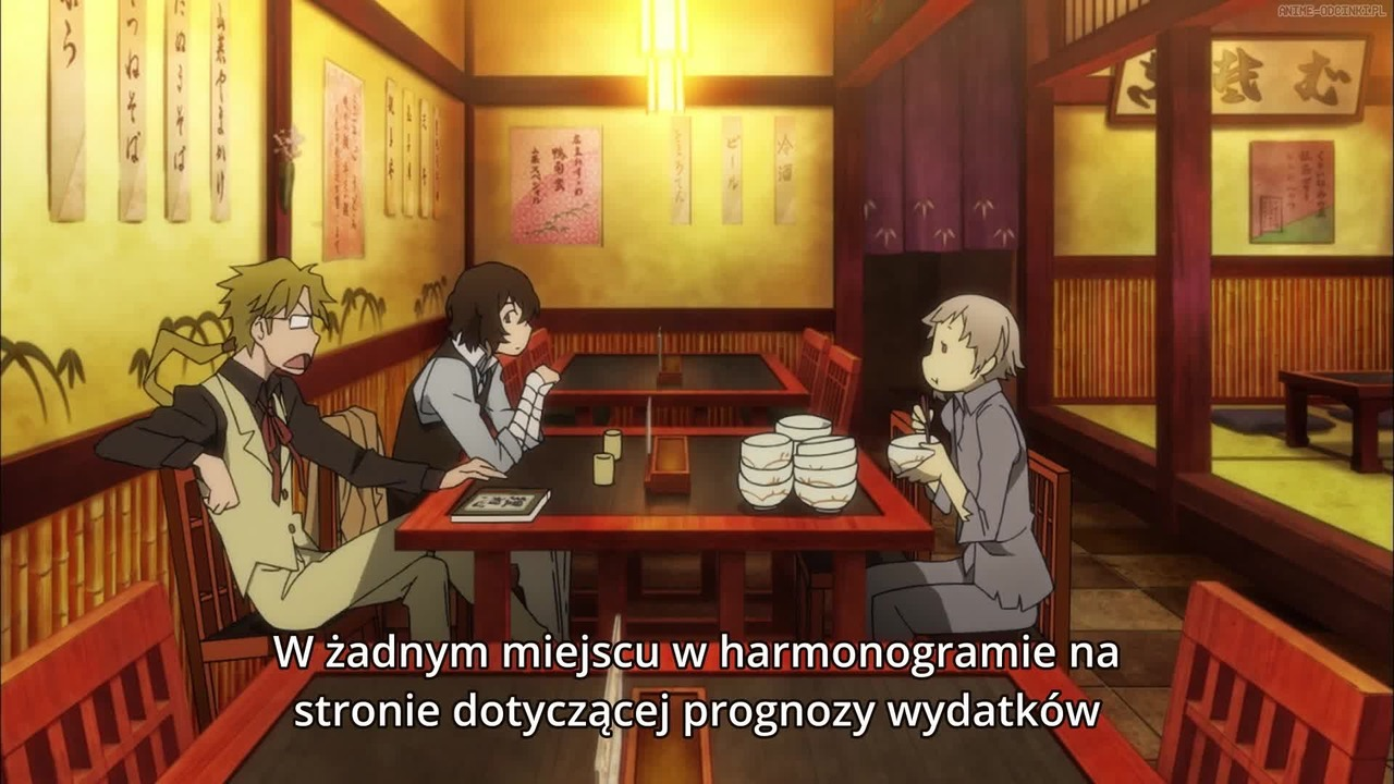 Bungou Stray Dogs Odcinek 1