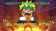 All Characters Ultimate Jutsu - Naruto Ultimate Ninja Heroes PSP