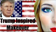 Make Your Face Look Great Again / Makeup inspired by Donald Trump - tutorial