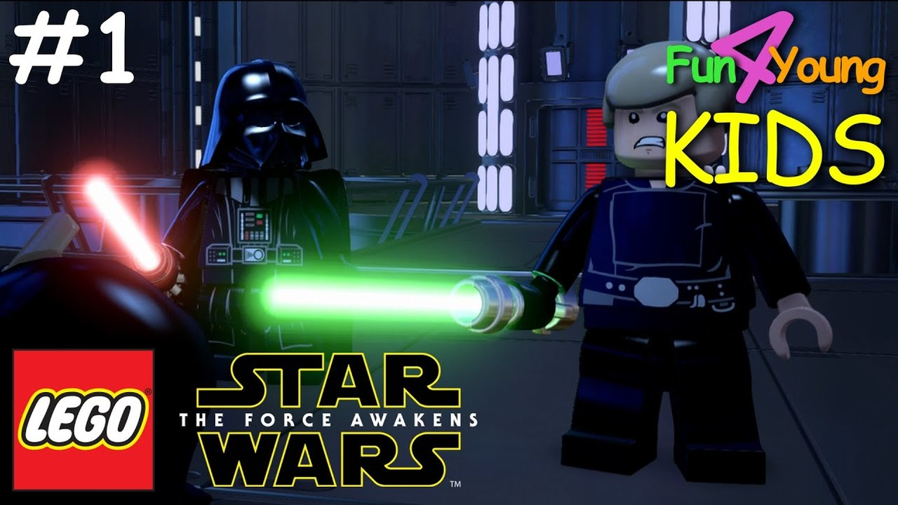 Star Wars Force Awakens 1080p: LEGO Star Wars: The Force Awakens // #1 The Battle Of