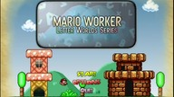 Mario Worker - Letter Worlds Series World A - Z