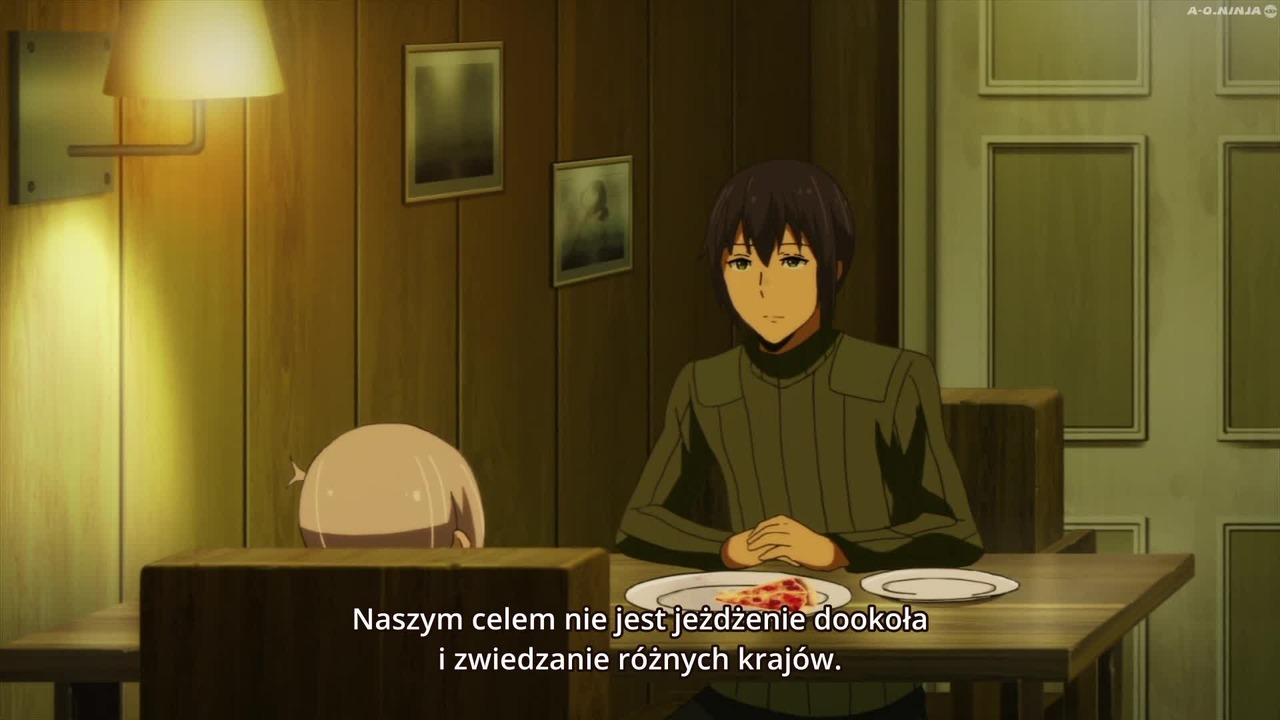 Kraj Fal Radiowych. Odcinek: 8 Kino no Tabi: The Beautiful World - The Animated Series