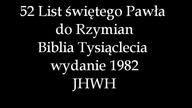 List do Rzymian Lektor PL