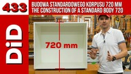433. Budowa standardowego korpusu 720 mm / The construction of a standard body 720 mm