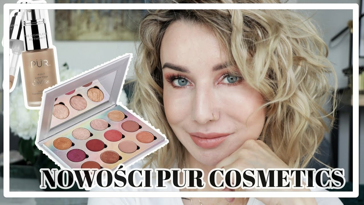 TEST NOWOŚCI PUR COSMETICS - VISIONARY EXTREME, LOVE YOUR SELFIE, NO FILTER BLURRING PRIMER
