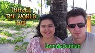 TRAVEL THE WORLD TAG | Demi&Damian [pl]