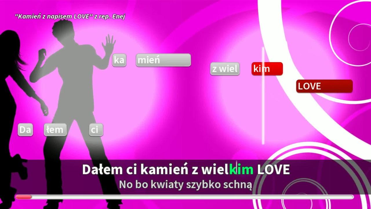 Enej Kamien Z Napisem Love Cda