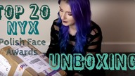 UNBOXING  Polish NYX Face Awards TOP 20!!!