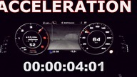 Acceleration test 0-100 of the new Audi Q7 with 3.0 TDI 272HP / 200KW Tiptronic transmission and quattro.