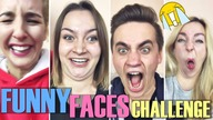 FUNNY FACE CHALLENGE #9  || The Sisters, Just Siblings!
