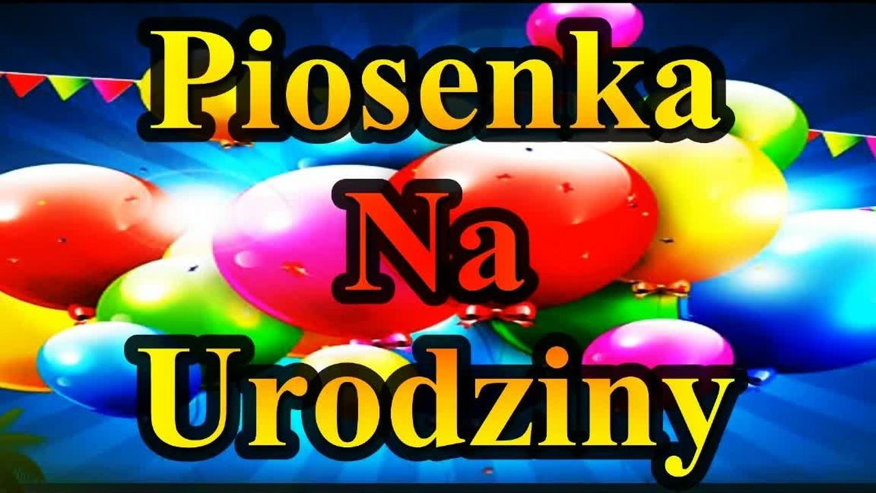 Piosenka Na Urodziny Disco Polo 2018 Fajne Przyjęcie Urodzinowe życzenia Piosenki Polskie