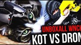 KOT VS. DRON - WJAZD NA CHATE - THE UNBOXALL #151