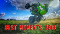 Best ATV Crashes & Fail Yamaha Raptor 700 R - GoPro Hero 5 Session