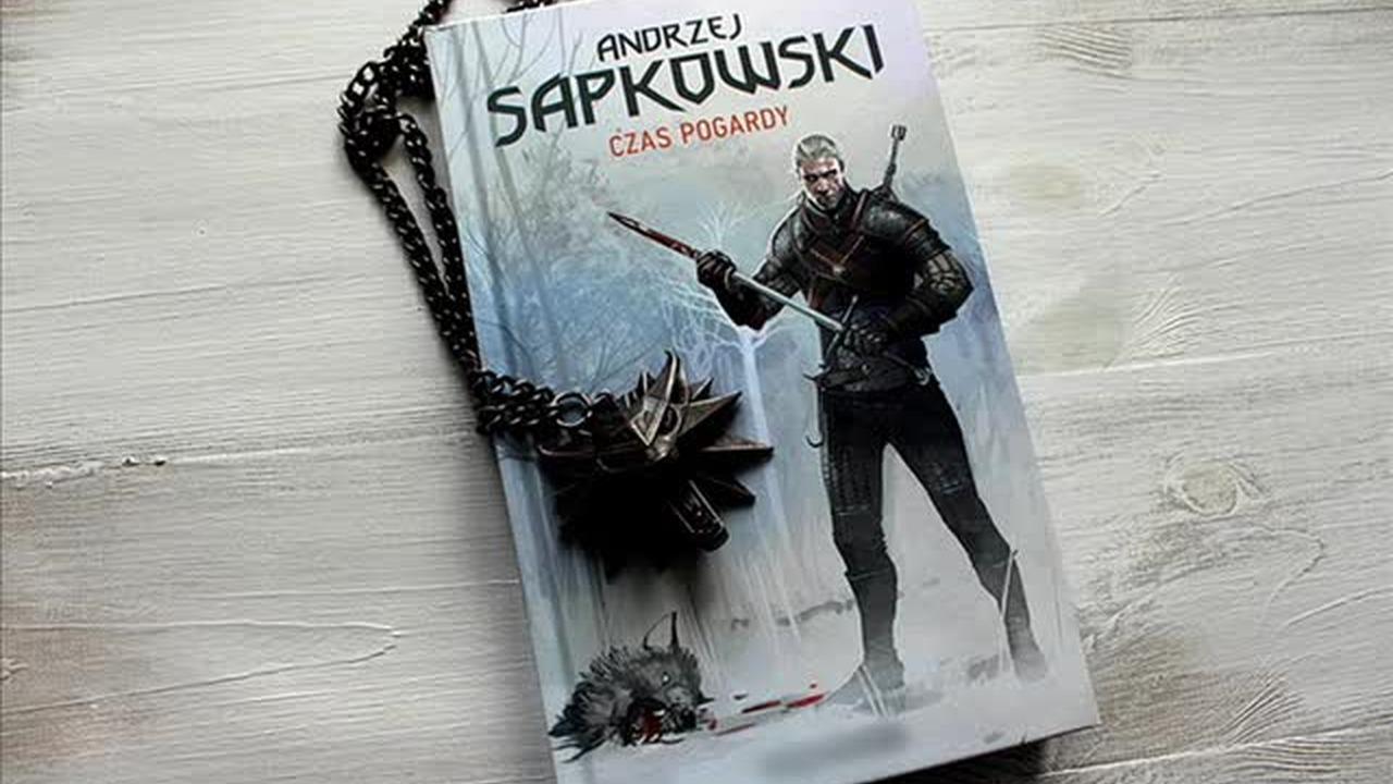 audio pogardy sapkowski book czas andrzej