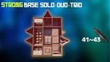 STRONG BASE SOLO DUO TRIO RUST 41+ ROCKETS