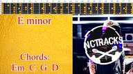 Traditional Classic Hard Rock Guitar Backing Track - E Minor | 125 bpm [NCTracks Release]
