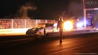 Jet Car Dragon Hunter at King of Germany 2014 - night show