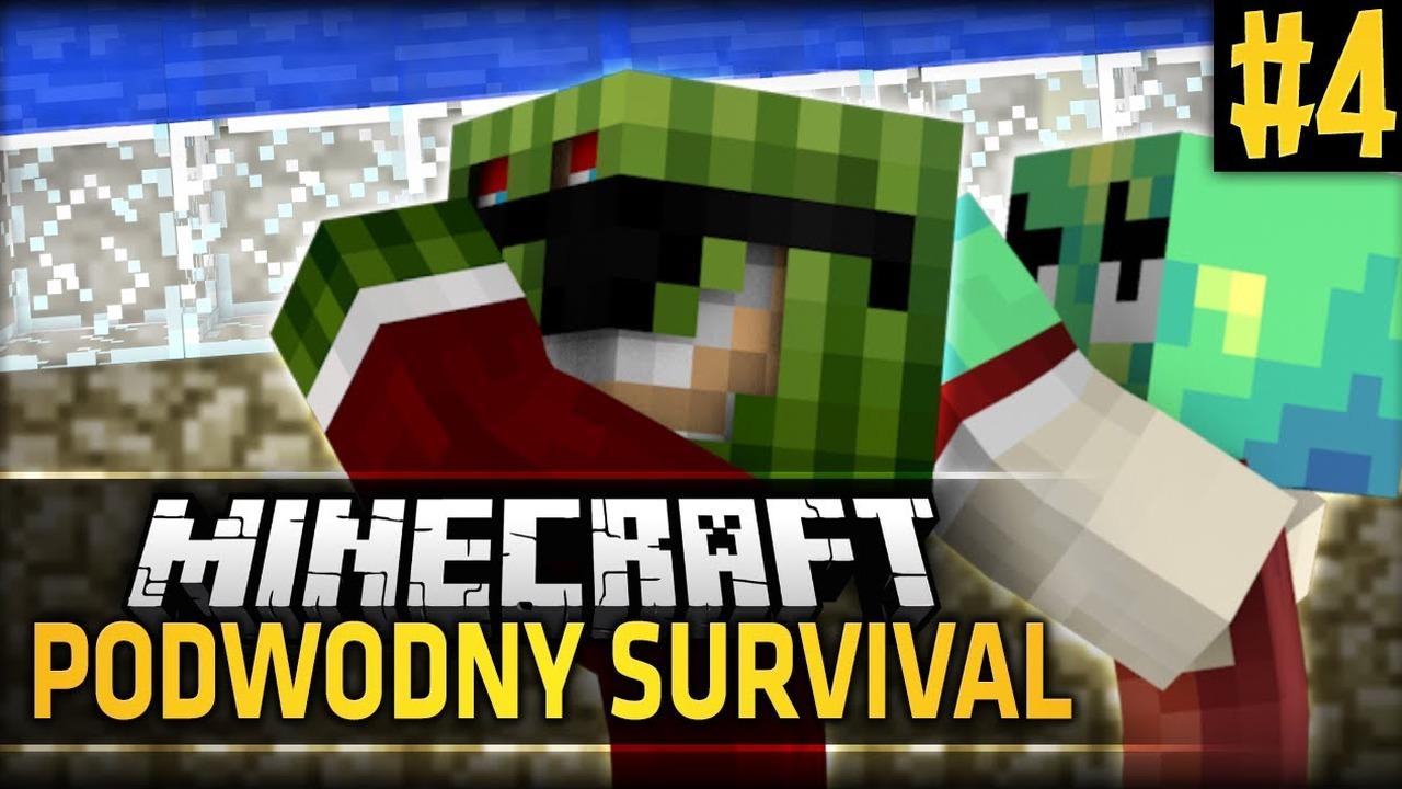 [2] Minecraft: Podwodny Świat - UPARTE ŚWINIAKI, BRAK ŚWIATŁA, FARMA /w  JDabrowsky