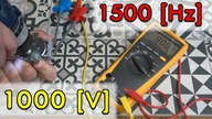 High voltage from the screwdriver 1000V