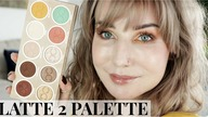 DOMINIQUE COSMETICS - LATTE 2 PALETTE VS LATTE PALETTE