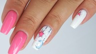 Sweet Dreams my baby/ cute design nails art /Elisium
