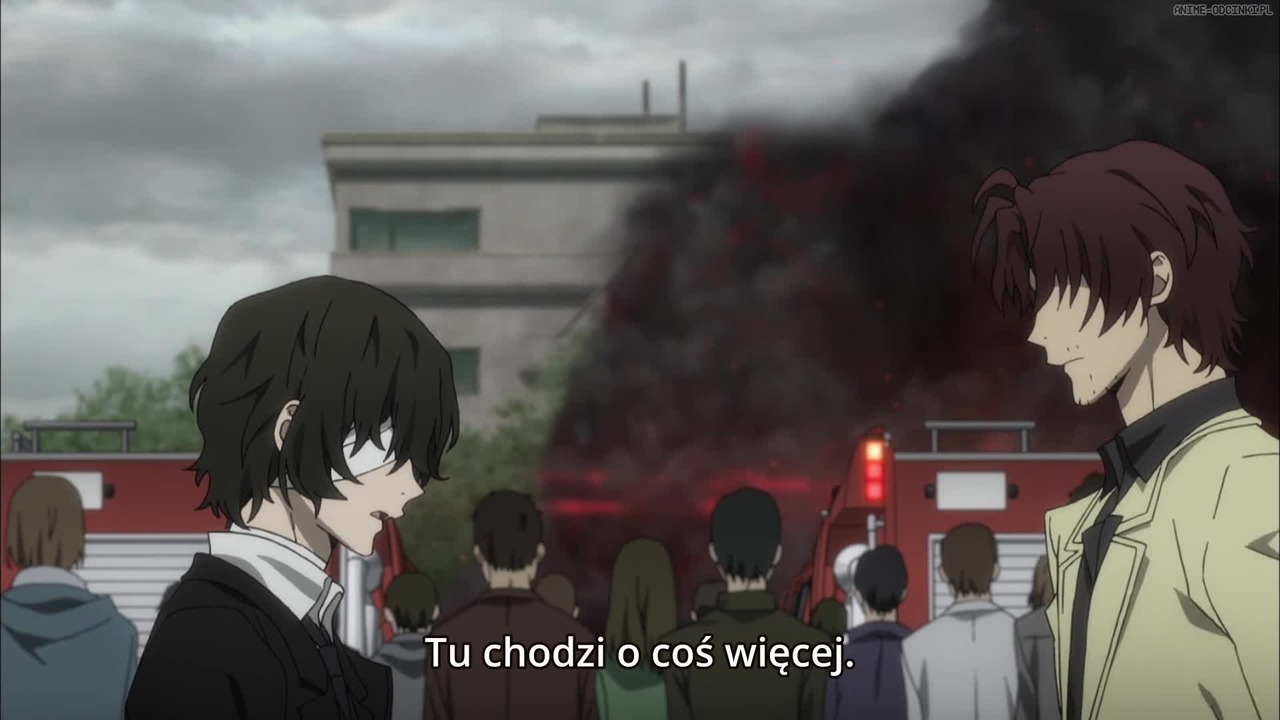 Bungou Stray Dogs 2nd Season Odcinek 4