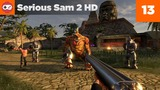 Serious Sam HD The Second Encounter #13 - Jazda w korytarzu | RetroGranie