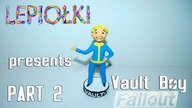 TUTORIAL: Vault boy ( Fallout) by  lepiołki  PART 2 polymer clay, z modeliny, made hand