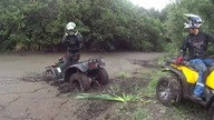 ATV YAMAHA BIG BEAR 350 4X4 GOPRO BAGNO WYCIĄGARKA OFF ROAD SONY AS20