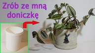 DIY Doniczka do kwiatów Tutorial  flower pot