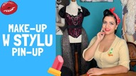 Make-Up w Stylu Pin-Up - Tutorial / Pin Up Candy