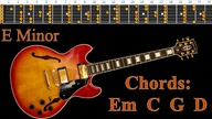 Soft Rock Ballad Style Backing Track Guitar Jam - E Minor | 110 bpm [NCTracks Release]
