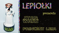 Tutorial : Princess Leia STAR WARS made hand polymer clay