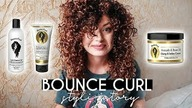 TEST NA ŻYWO  Bounce Curl Leave-In + Defined Cream + Light Creme Gel | Curly Madeleine