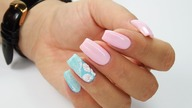 Sea Shell nails art Tutorial / Charbonne Gabriellenails