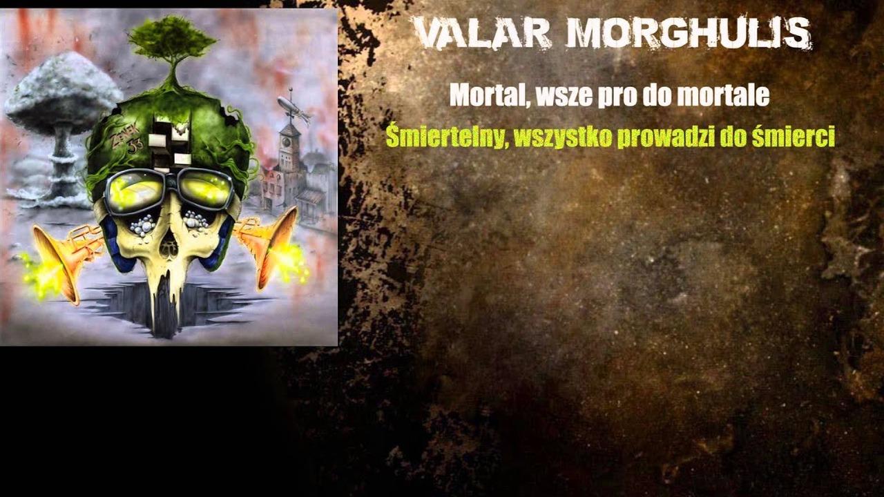 ZENEK - Valar Morghulis (z albumu 33) z tekstem *1* - CDA