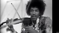 Jimi Hendrix Experience - 1967-10-12 Discorama, Paris,  Wind Cries Mary and The Burning of the Midnight Lamp